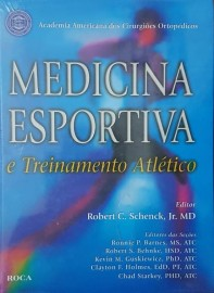 Medicina Esportiva e Treinamento Atlético Robert C. Schenck 8572414150