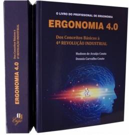 Livro Ergonomia 4.0 - Dos Conceitos Básicos à 4ª Revolução Industrial Hudson Couto