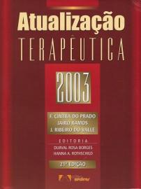Livro Atualização Terapêutica 21ª Edição 2003