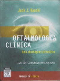 Livro Oftalmologia Clinica  Kanski Jack J.