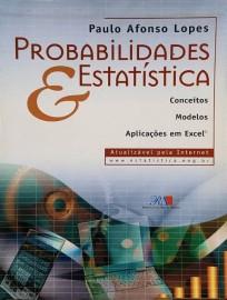 Probabilidades e Estatística (Português) Capa comum – Paulo Afonso Lopes - 8587148079